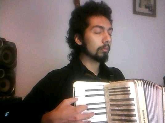 Fabián GÓMEZ SCHMIDT et son accordéon