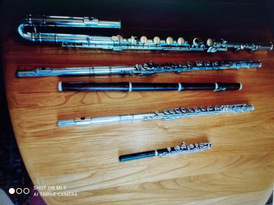 Flûtes de François 1